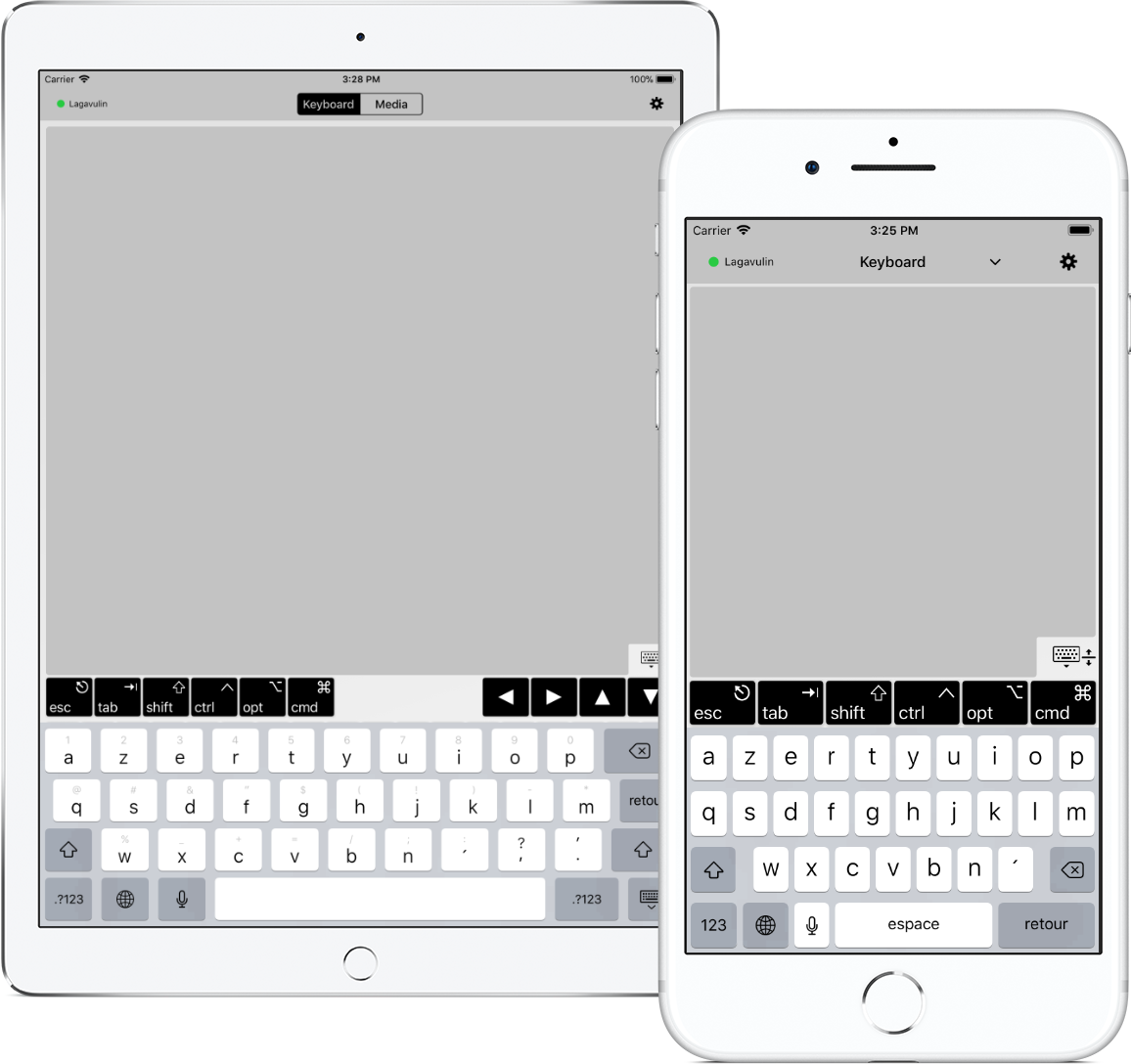 TouchPad - Turn your iOS device into a virtual numeric